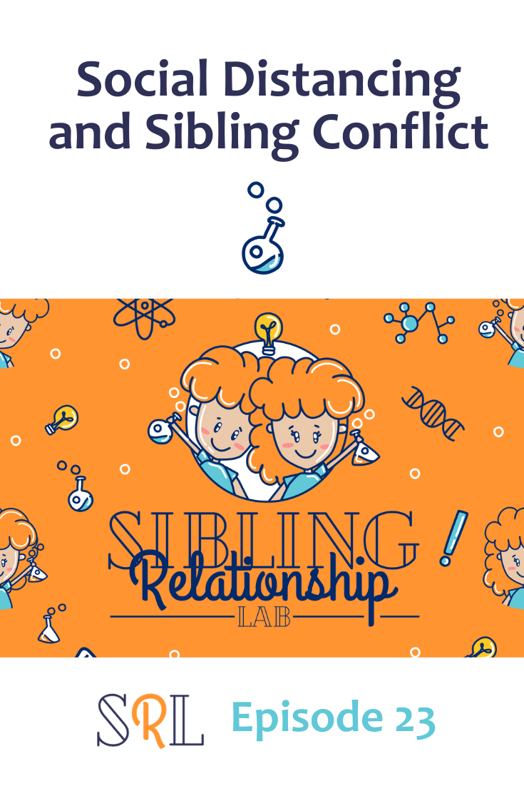 Are your kids struggling with extra sibling conflict during this time of quarantine and social distancing? Here are some thoughts to encourage you.